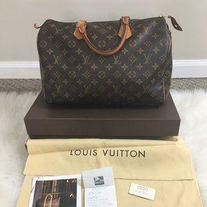 Louis Vuitton Speedy 35 💯 Authentic
